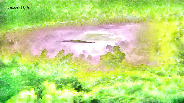 Cloud Abstractions Green - PA by Leonardo Digenio