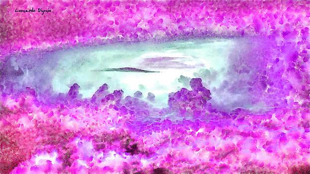 Cloud Abstractions Purple - PA by Leonardo Digenio