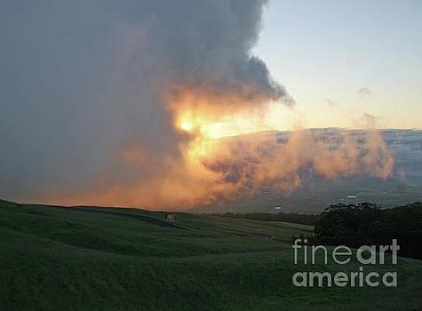 Cloud Bank and Sunset by PJ Boylan