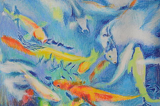 Cloud Fishes by Aletha Kuschan