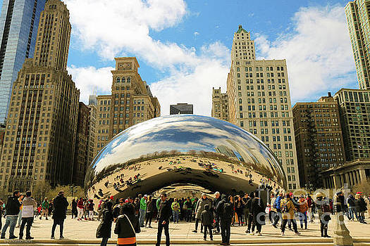 Cloud Gate Chicago by Veronica Batterson