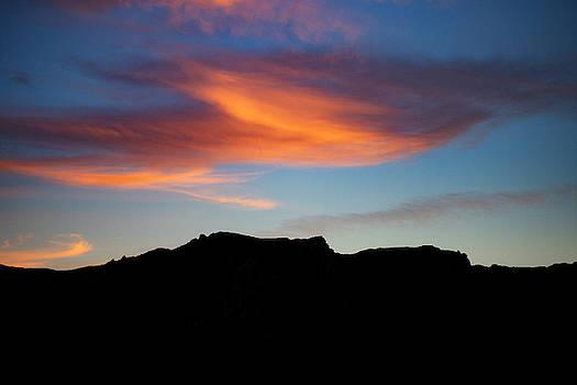 Cloud Over Mt. Boney by John Rodrigues