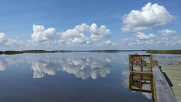 Cloud Reflections by Liza Eckardt