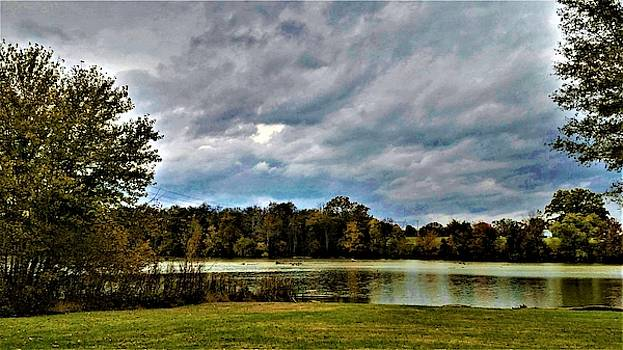 Clouds and Old Hickory Lake by Peggy Leyva Conley