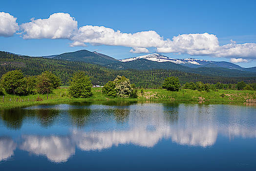 Clouds and Reflections by David Sams