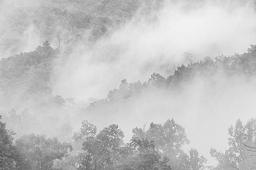 Clouds in The Great Smoky Mountains by Susan Schmitz