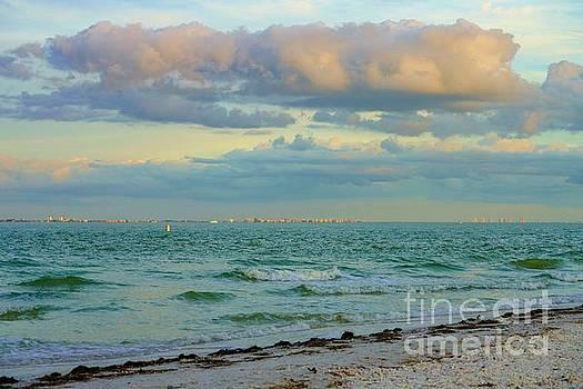 Clouds over Sanibel Beach by Susan Rydberg
