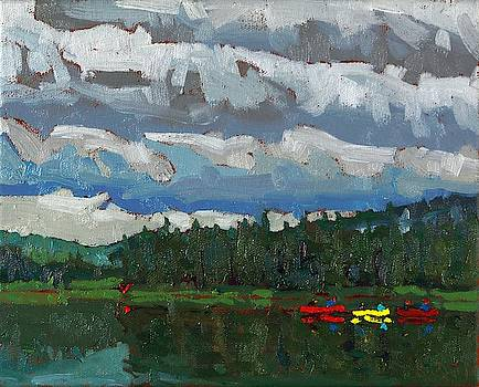 Phil Chadwick - Cloudy Dumoine Evening
