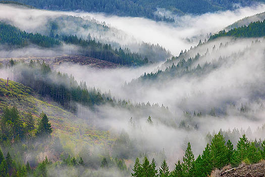 Cloudy Valley by Brian Knott Photography