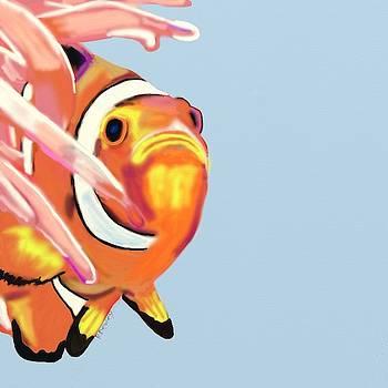Clown fish by Ronni Dewey