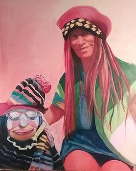 Clown by Marcia Hochstetter