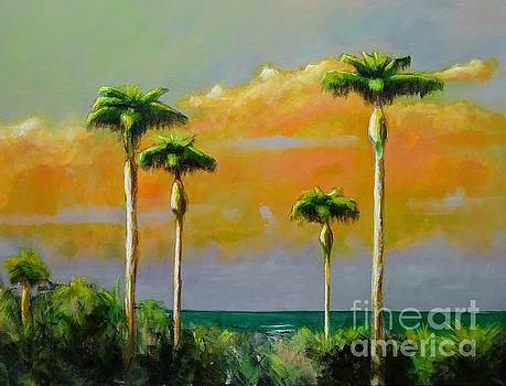 Palm Cluster by Frances Marino