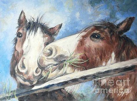 Clydesdale Pair by Ryn Shell