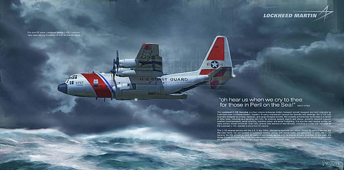 James Vaughan - Coast Guard C-130 text