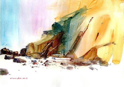 Coastal Cliffs by P Anthony Visco