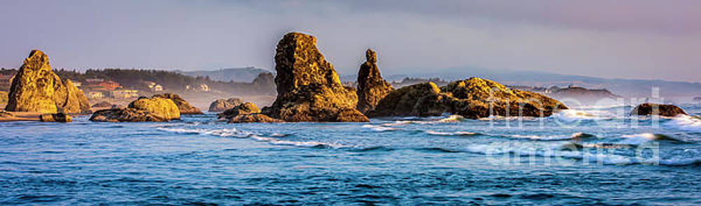 Coastal Sunset by Charles Dobbs