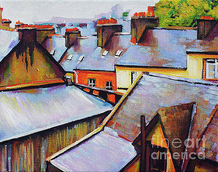 Cobh Rooftops by Jay Mulligan