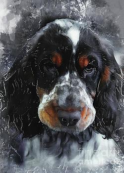 Justyna Jaszke JBJart - Cocker Spaniel dog