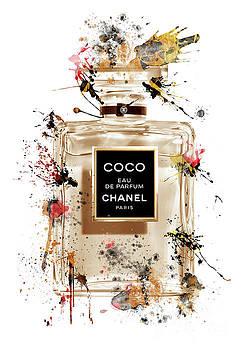COCO Eau de Parfum Chanel Perfume - 52 by Prar Kulasekara