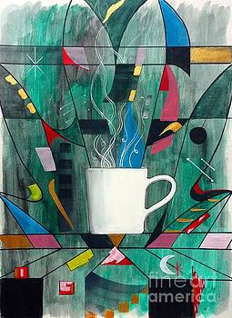 Coffee Abstraction by John Lyes