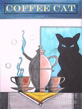 Coffee Cat by John Lyes