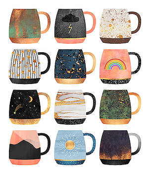 Coffee Cup Collection 2 by Elisabeth Fredriksson