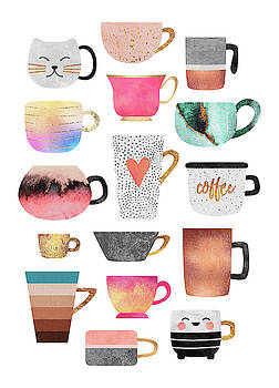 Coffee Cup Collection by Elisabeth Fredriksson