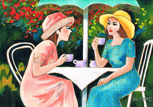 Coffee Time by Val Stokes