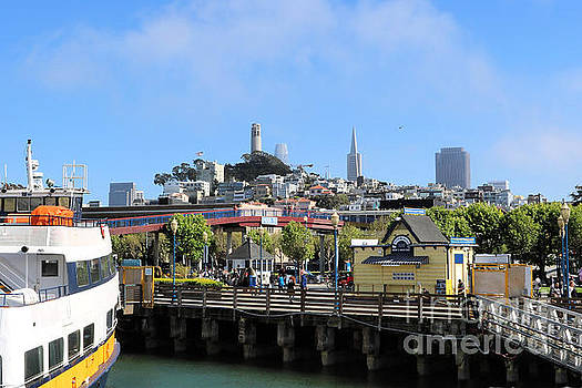 Diann Fisher - Coit Tower San Francisco Pier 39