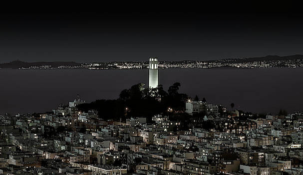 Coit Tower - Telegraph Hill - San Francisco by Daniel Hagerman