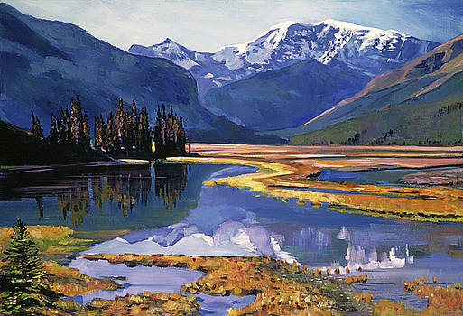 Cold River Valley by David Lloyd Glover
