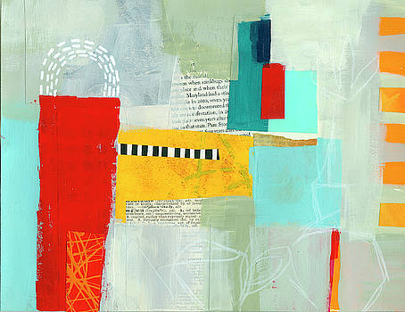 Collage Painting #2 by Jane Davies