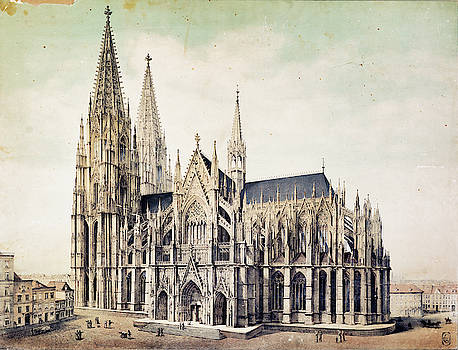 Cologne Cathedral by Pekka Liukkonen