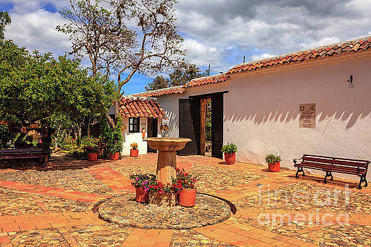 Colombia, South America - The Courtyard Of The House In Which Th by Devasahayam Chandra Dhas