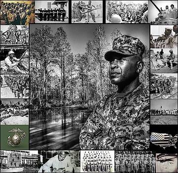 Colonel Trimble Collage by Al Harden