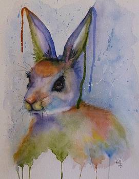 Color My World Bunny by Kelly Mills