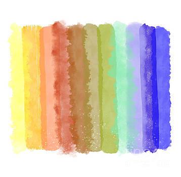 Tina Lavoie - Color Palette Watercolor Brush Strokes for Hello Gorgeous