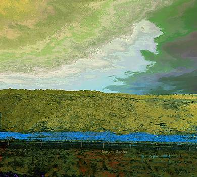 Colorado 287 Abstract by Lenore Senior