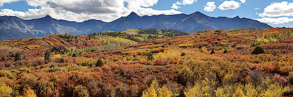 James BO Insogna - Colorado Autumn Panorama Colorful Bliss