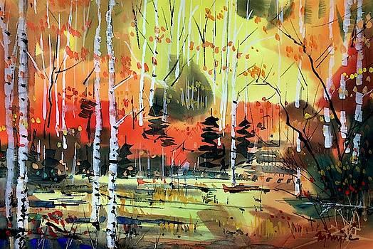 Colorado Fall Colors 234 by Ugljesa Janjic