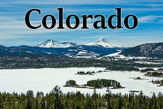 Colorado Mountains by G Matthew Laughton