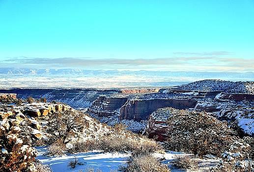Colorado National Monument shot ten by Gerald Blaine