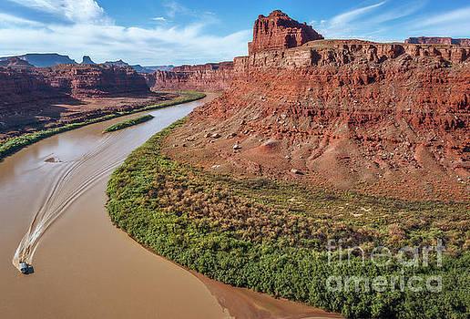 Colorado River by Sharon Seaward