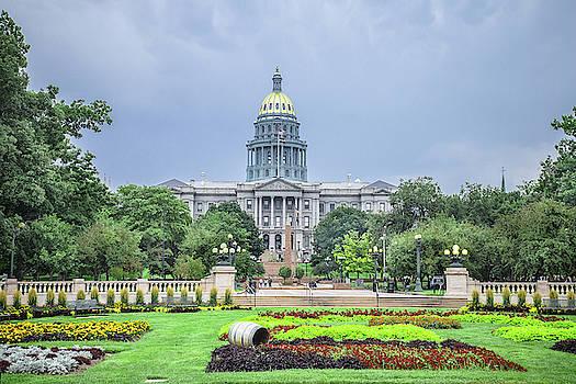 Colorado State Capital by Steven Bateson