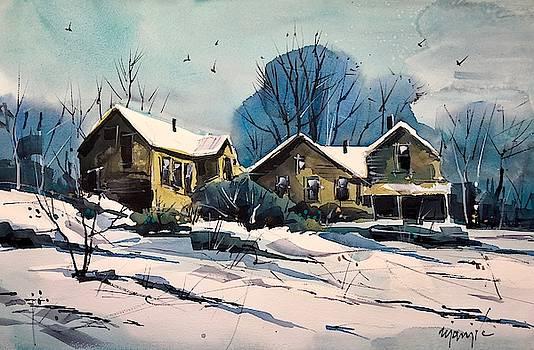 Colorado Winter #17 by Ugljesa Janjic