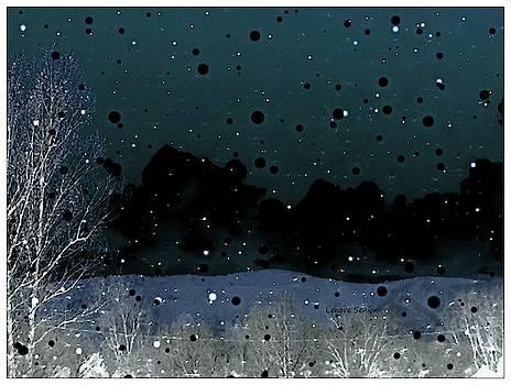 Colorado Winter Night by Lenore Senior
