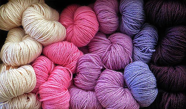 Colored Yarn by Dave Mills
