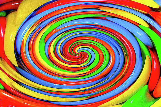 Colorful Candy Twirl by SR Green
