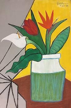 Colorful Cubistic Bouquet by Ricardo Penalver