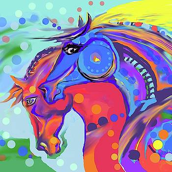 Colorful Pair by Mary Armstrong